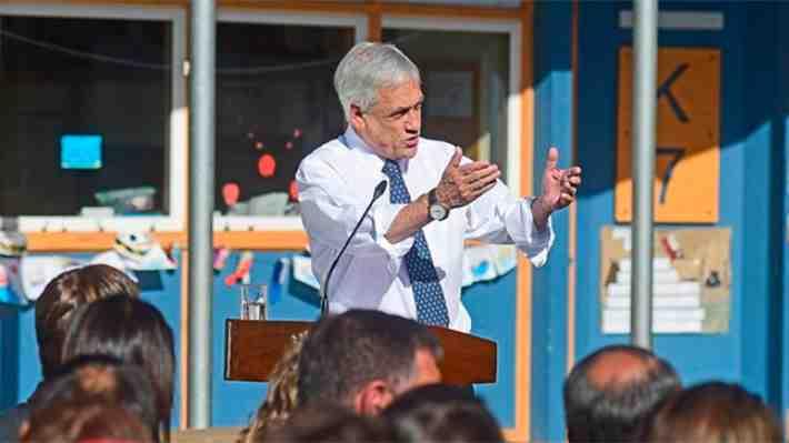 """Piñera: """"Con la educación que tenemos no seremos un país desarrollado"""". ¿Concuerdas?"""