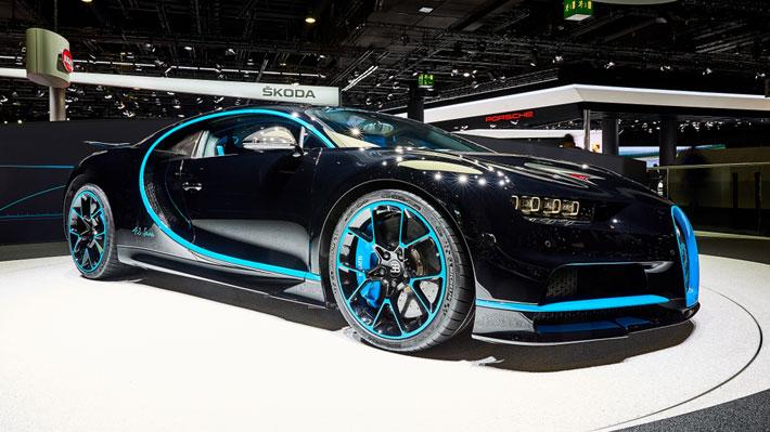 Hecho a mano: Bugatti fabrica su potente Chiron número 100