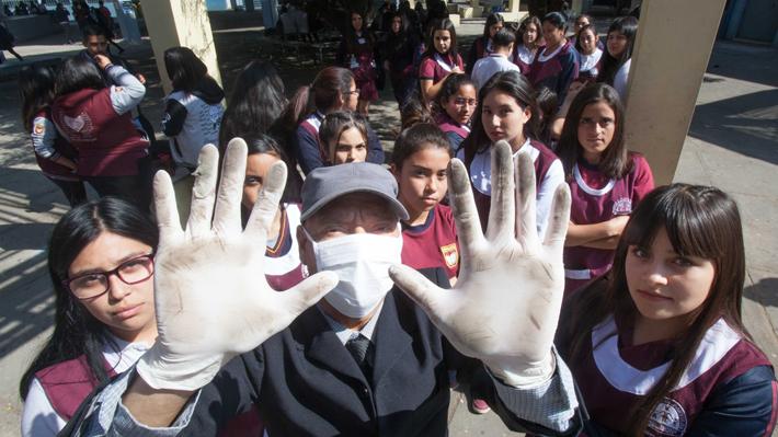 Antofagasta tiene un récord de arsénico, cobre y zinc en sus calles