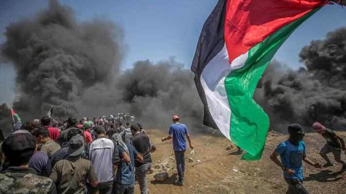 Cifra de palestinos fallecidos en protestas en Gaza aumenta a 116