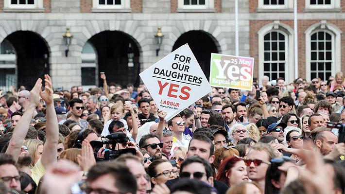 """El """"sí"""" a la reforma del aborto en Irlanda gana el referéndum con el 66,4% de votos"""