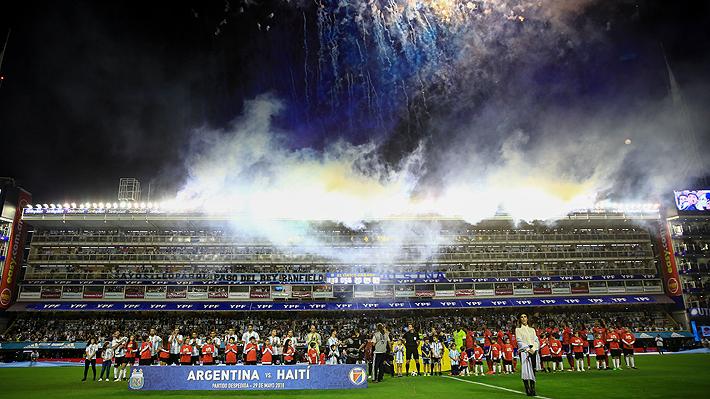 Mira la burla de los argentinos contra Chile y el triplete de Messi ante Haití en amistoso pre Mundial