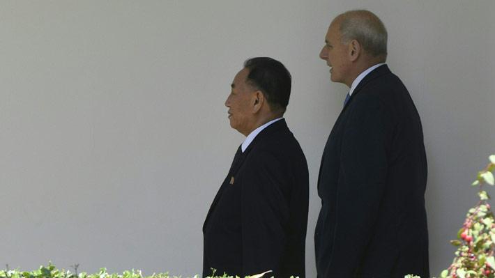 Mano derecha de Kim Jong-un llega a la Casa Blanca para reunirse con Trump