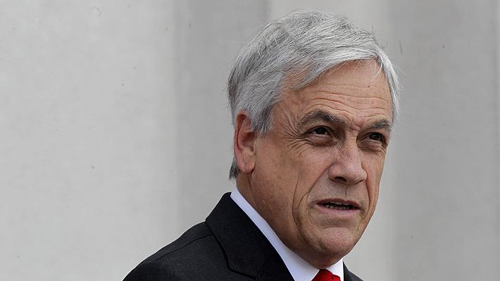 """Presidente Piñera calificó como """"muy grave"""" que hayan dejado libres a sujetos que tenían """"peligrosas armas y municiones"""""""
