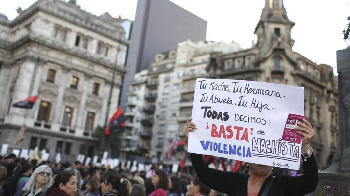 Argentina cifra en 251 los casos de femicidios registrados durante 2017 en todo el país