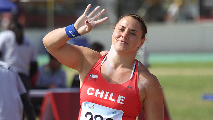 El impresionante récord que alcanzó Natalia Duco tras ganar oro en lanzamiento de la bala en los Odesur