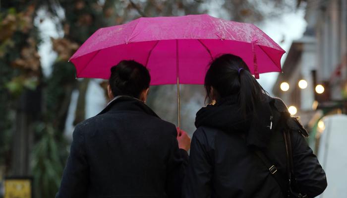 Onemi declara alerta temprana para la Región Metropolitana ante anuncio de lluvia para el fin de semana