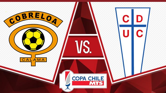 Repase la victoria de la UC sobre Cobreloa en la Copa Chile
