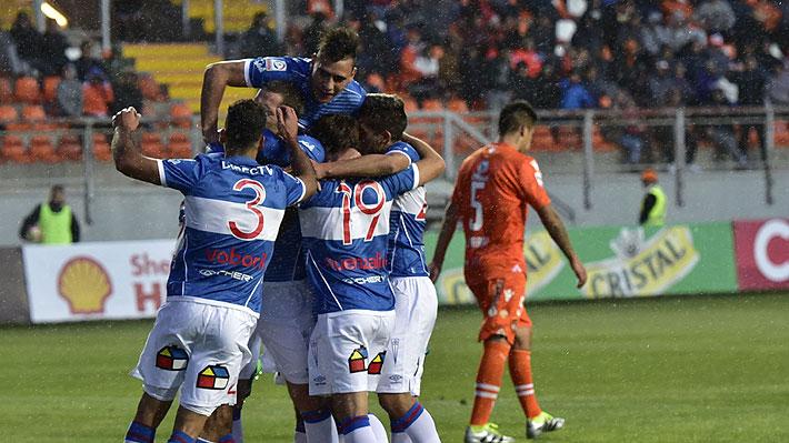 Sin mostrar mucho, pero con una buena actuación del cubano Munder la UC derrotó como visita a Cobreloa por la Copa Chile