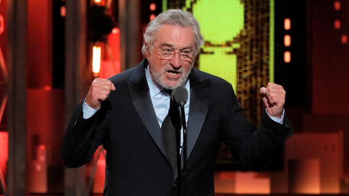 Por insultar a Trump: Discurso de Robert De Niro fue censurado en los Tony Awards
