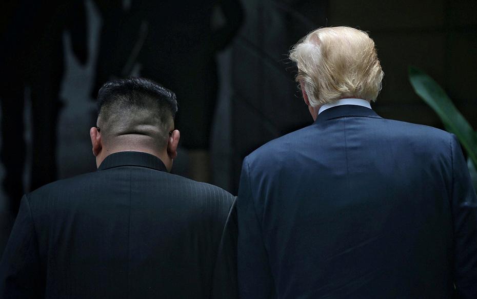 Fotos: El lado B del encuentro entre Kim Jong-un y Donald Trump