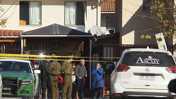 "Fiscal señala que asesinato de madre e hija en Maipú fue cometido por alguien ""cercano"""