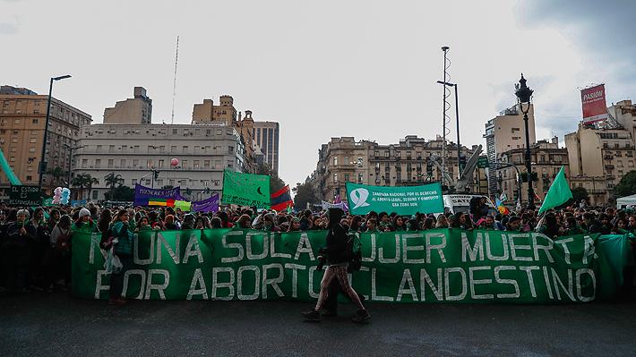 Se estima una reñida votación: Congreso argentino debate hoy la ley de aborto libre