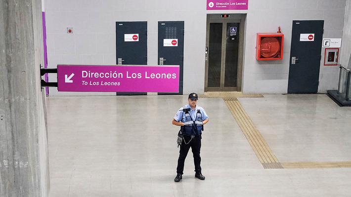 Metro de Santiago: Línea 6 no se encuentra disponible por problemas de comunicación