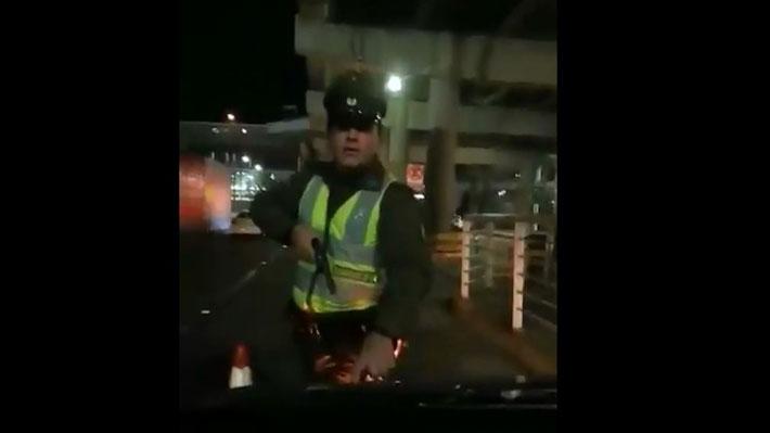 Video: Imágenes del incidente que terminó con un chofer de Uber herido