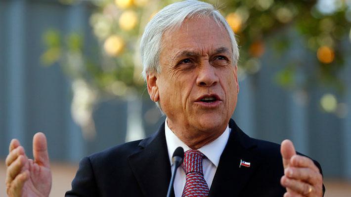 """Piñera por incidente de Uber: """"Llegó la hora que todos aprendamos a respetar a nuestras autoridades"""""""