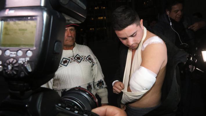 """Chofer de Uber que fue herido a bala: """"Me sentí amedrentado, por eso tomé esa actitud"""""""
