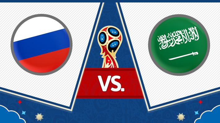 Reviva el triunfo de Rusia sobre Arabia Saudita en el primer partido del Mundial