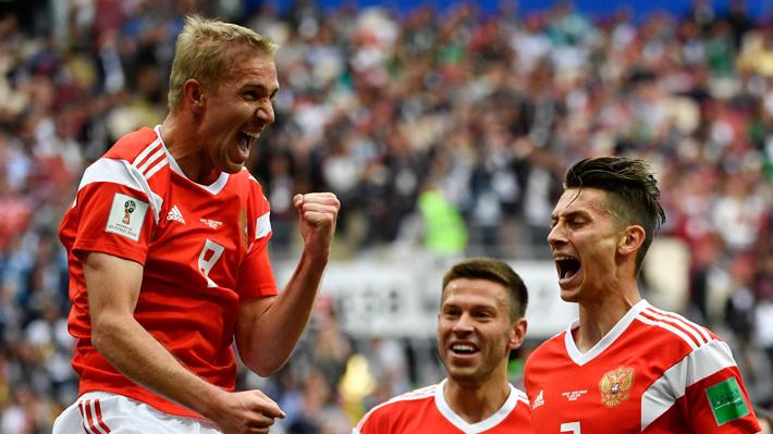 Revisa uno a uno los cinco goles con que Rusia humilló a la Arabia de Pizzi en el debut del Mundial