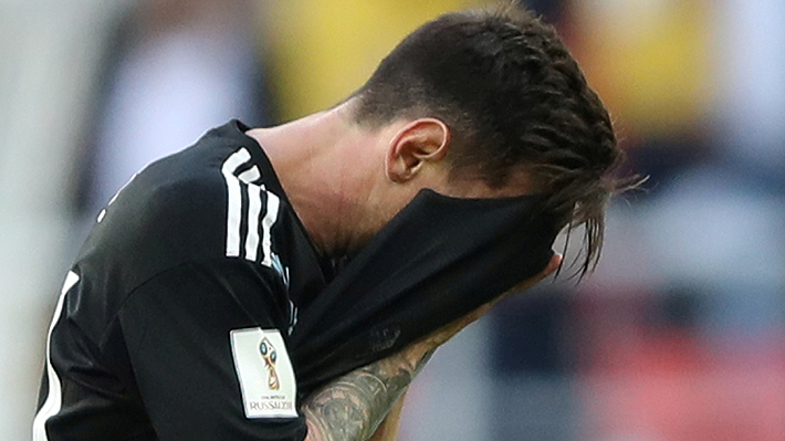 """La fuerte autocrítica de Lionel Messi por fallar el penal ante Islandia: """"Me siento responsable"""""""