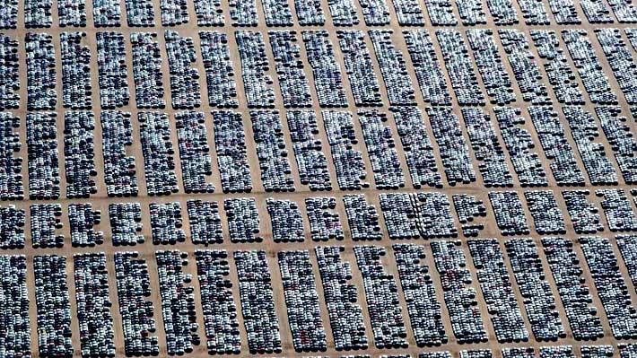 """Fotos: Así son los """"cementerios de autos"""" en EE.UU. tras la polémica del control de emisiones"""