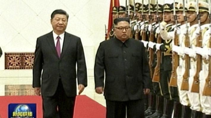 Kim Jong-un se reúne con Xi Jinping en China para analizar cumbre con Trump