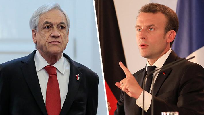 """Piñera aplaude respuesta de Macron a joven que lo llamó """"Manu"""": """"Marcó fuerte y claro el necesario respeto"""""""