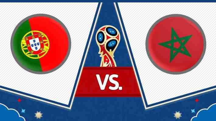 Repase el ajustado triunfo de Portugal sobre Marruecos en el Mundial