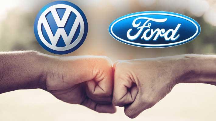 Ford y Volkswagen unen fuerzas para desarrollar y construir vehículos en conjunto