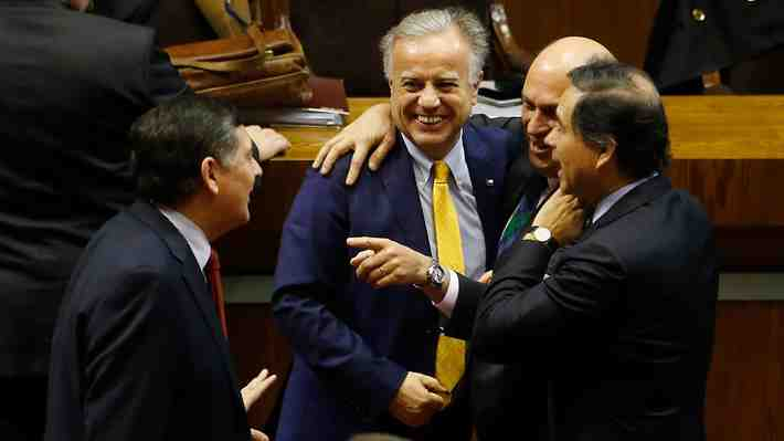 Emilio Santelices sorteó acusación constitucional en su contra. ¿Qué te pareció la sesión?