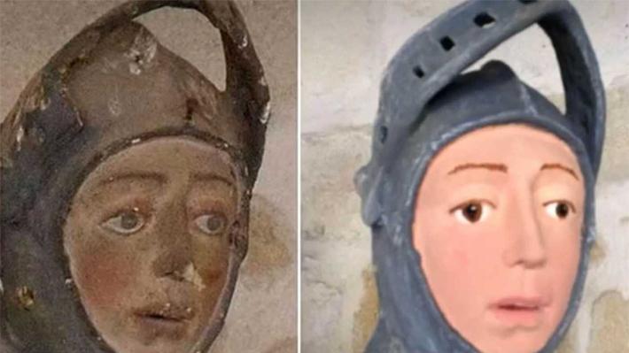 """Un nuevo """"Ecce Homo"""": Desafortunada restauración de una escultura del siglo XVI podría tener sanciones penales"""