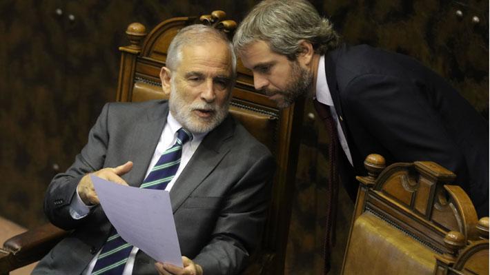 Tensión La Moneda-Congreso: Blumel pide dejar atrás la confrontación, pero Montes acusa señales confusas