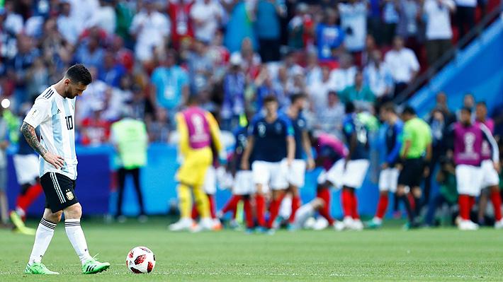 Francia sepulta a la Argentina de Sampaoli y Messi que se va eliminada en octavos del Mundial en un partidazo