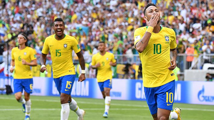 Brasil vence a México y pasa a cuartos del Mundial