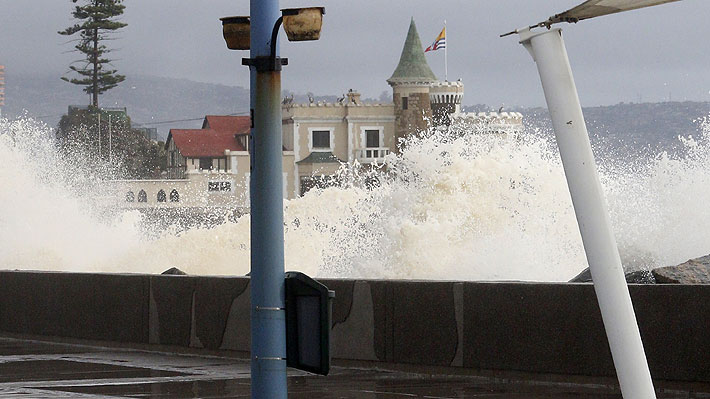 Armada emite alerta de marejadas con olas de hasta cuatro metros