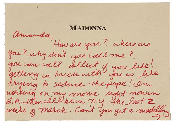 Una modelo acusa a Madonna de acoso sexual: