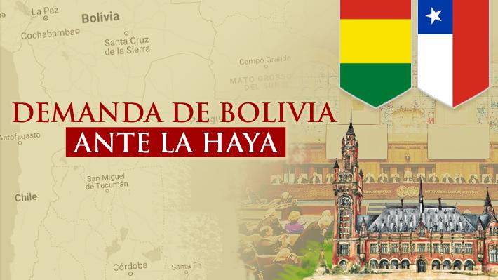 Resultado de imagen para la haya bolivia chile