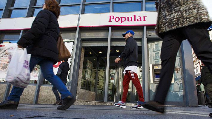 Los grandes clientes de Popular podían perder 14.000 millones con liquidación