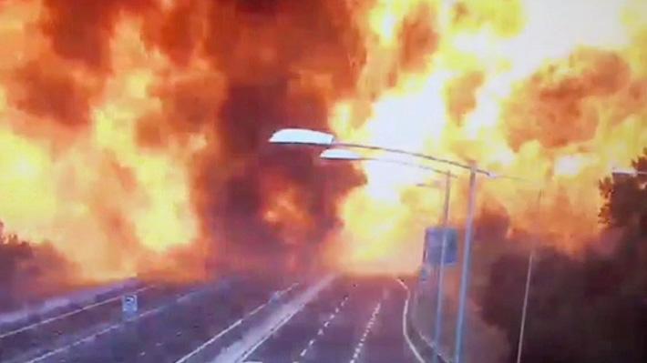 Video: El momento exacto de la gran explosión que dejó al menos dos muertos en Italia