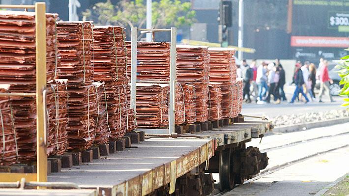Precio del cobre continúa con volatilidad y sube a su máximo en dos semanas
