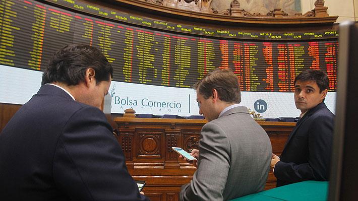 Bolsa de Santiago vuelve a subir hoy y se dispara con alza semanal de 2,92%