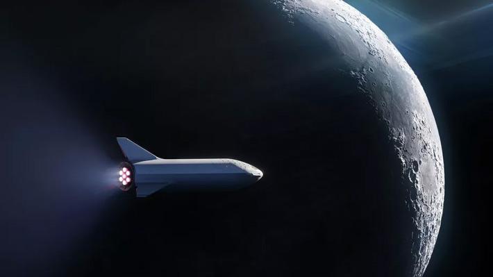 SpaceX sorprende con un viaje en torno a la Luna tripulado con un especial turista