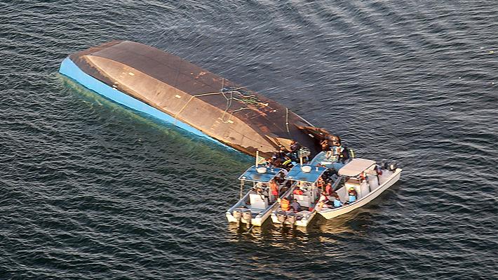 Se eleva a 148 el número de víctimas fatales tras naufragio de ferri en Tanzania