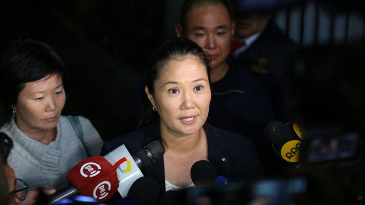Detienen a Keiko Fujimori por presunto lavado de activos en Perú