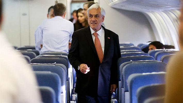 Piñera comienza actividades en Bélgica, su última escala antes de la cita con el Papa Francisco