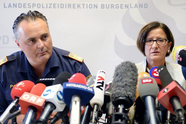 Detienen en Hungría a traficantes del camión donde se encontraron más de 70 inmigrantes muertos en Austria