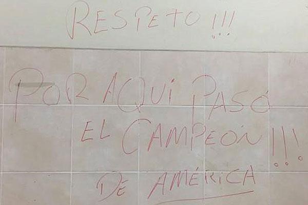 El mensaje que Chile habría dejado a Perú en camarín: