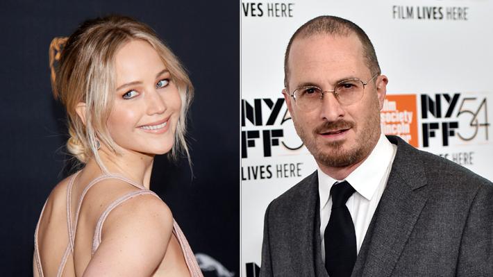 Jennifer Lawrence inicia relación con el reconocido cineasta Darren Aronofsky