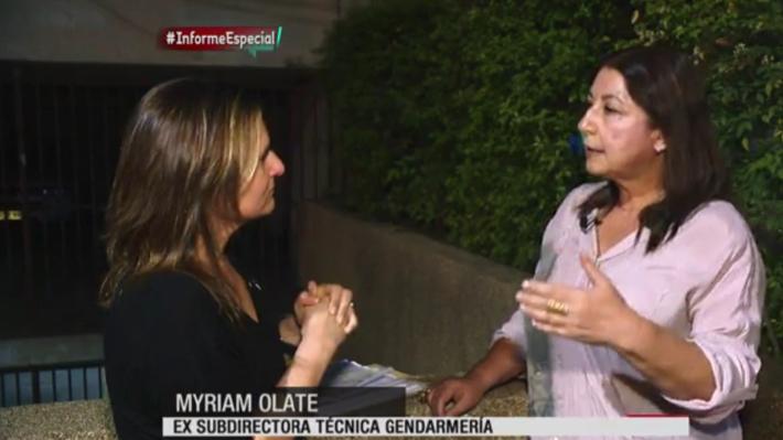 Myriam Olate reiteró que le da vergüenza recibir una pensión tan alta y defendió pertenecer a Dipreca