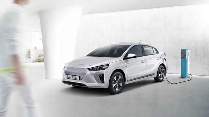 Hyundai presenta en Chile el Ioniq eléctrico